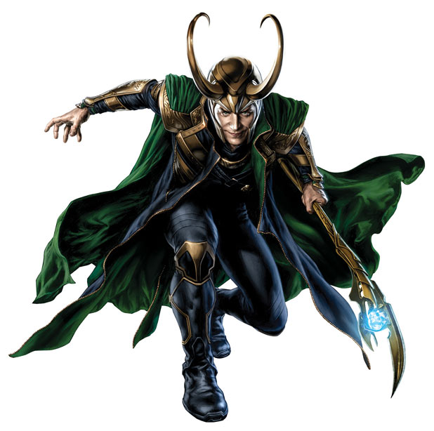 Tom Hiddlestone as Loki