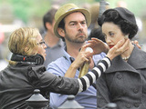 Madonna directing 'W.E.' on location
