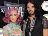 VMAS 2011: Katy Perry and Russell Brand