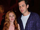 Mark Ronson and wife Josephine de la Baume