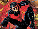 Check out our review of Kyle Higgins and Eddy Barrows' Nightwing #1.