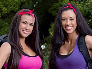 Vegas Showgirls Kaylani Paliotta and Lisa Tilley