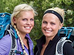 Sisters Liz and Marie Canavan
