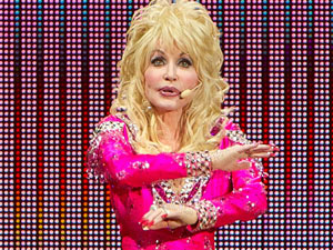Dolly Parton performs live in Gothenburg, Sweden
