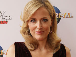 Gillian Anderson arrives at the World Premier of Johnny English Reborn in Sydney