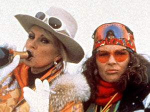 Jennifer Saunders and Joanna Lumley in &#39;Absolutely Fabulous&#39;