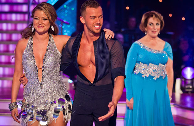 Holly Valance and Artem Chigvinsev