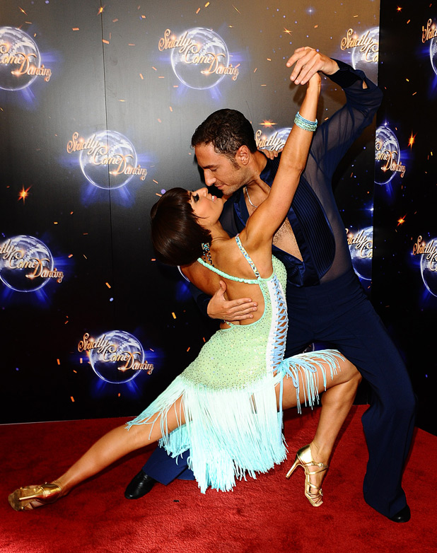 Flavia Cacace and Vincent Simone arrive for the launch of Strictly Come Dancing 2011