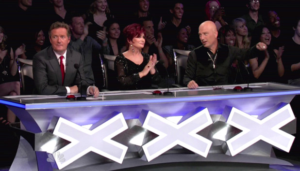 Piers Morgan, Sharon Osbourne, Howie Mandel judge America&#39;s Got Talent