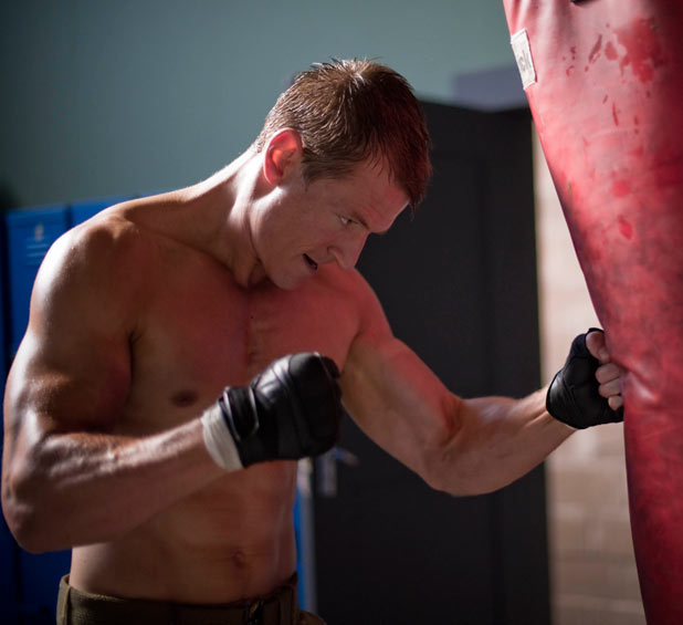Philip Winchester in 'Strike Back 2'