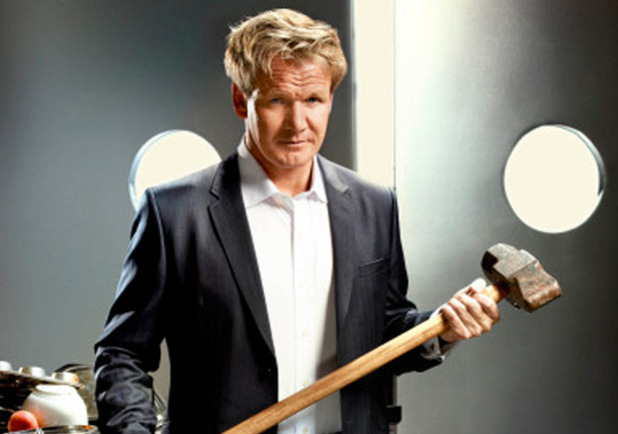 Gordon Ramsay returns in the 'Kitchen Nightmares' Season Four