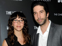 David Schwimmer and wife Zoe Buckman renew their vows in front of 200 guests.