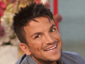 Peter Andre confirms that he is dating his backing dancer Kristina MacMillan.