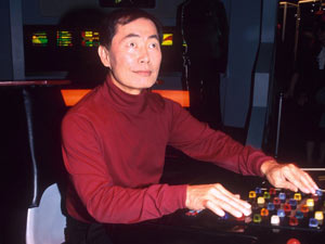 A Star Trek Exhibition in 1995
