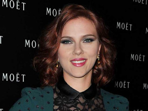 Scarlett Johansson attends the 1743 spirit of Moet & Chandon celebrations in China