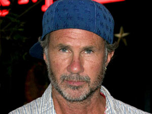 Red Hot Chili Peppers drummer Chad Smith