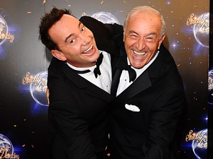 Len Goodman and Craig Revel Horwood arrive for the launch of Strictly Come Dancing 2011