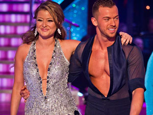 SCD 2011: Holly Valance and Artem Chigvinsev