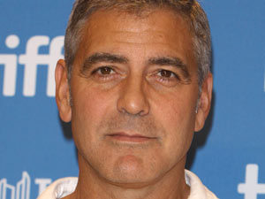 George Clooney at the 36th Annual Toronto International Film Festival 