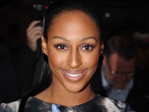 Alexandra Burke arriving at the 2011 GQMen of the Year Awards