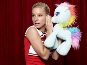 Heather Morris returns as Brittany in Season Three of Glee