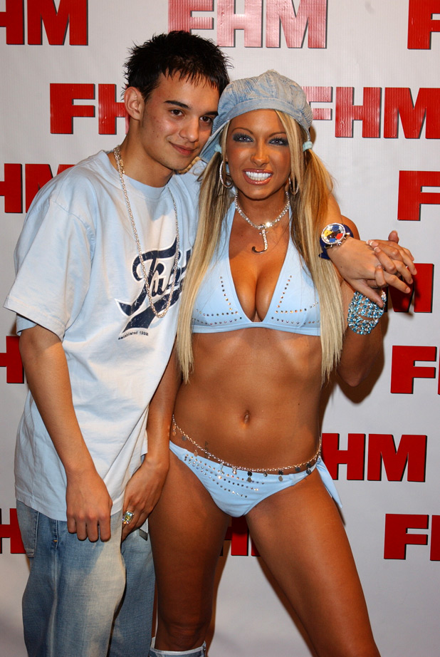 Jodie Marsh and Kenize