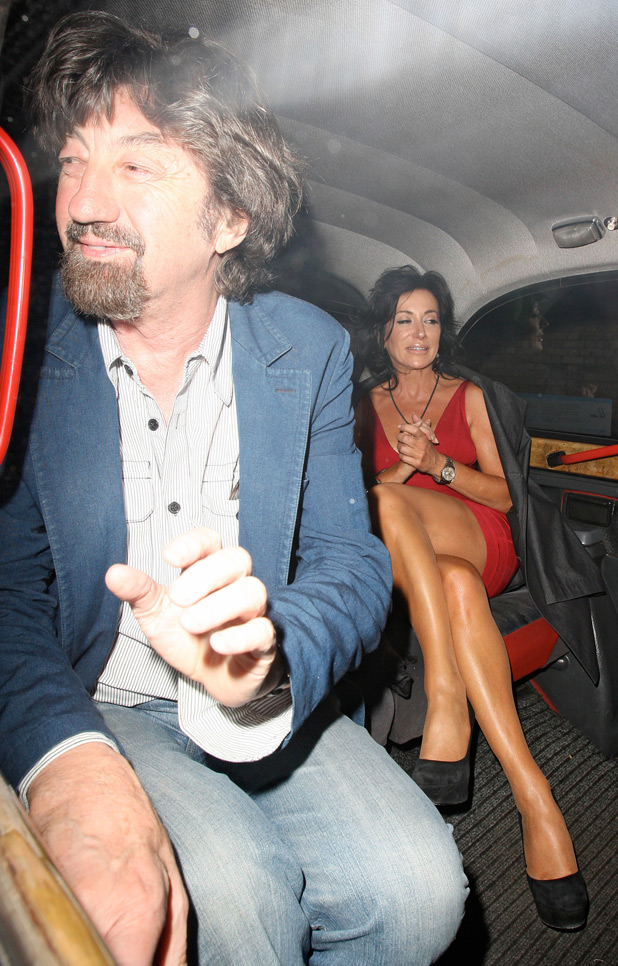 Nancy Dell'Olio and Trevor Nunn
