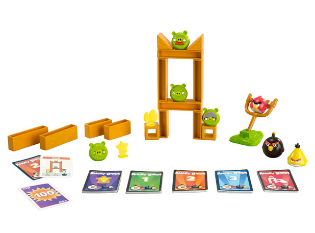 Angry Birds desk game packaging