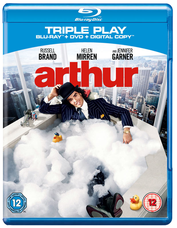 Arthur Blu-Ray Pack shot