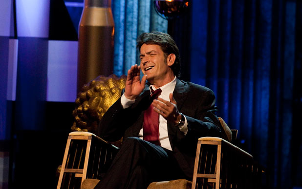 "Charlie Sheen at the ""Comedy Central Roast of Charlie Sheen"""