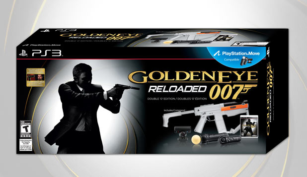 Goldeneye 007: Reloaded' Double 'O' Edition bundle for PlayStation 3
