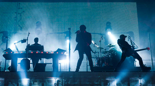 Pendulum perform at Bestival 2011