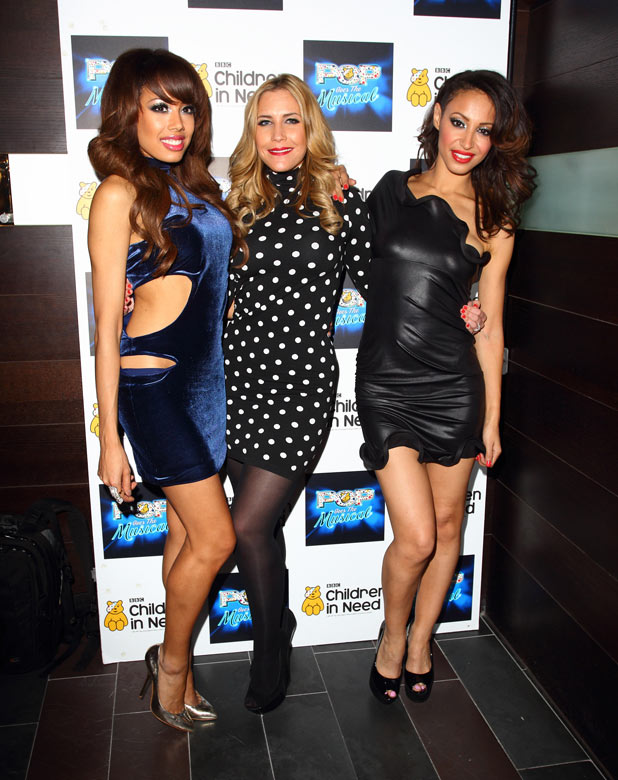 The Sugababes at Children in Need 2011