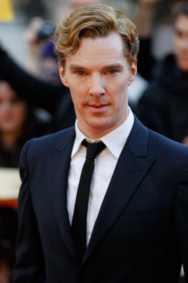 Sherlock star Benedict Cumberbatch arrives