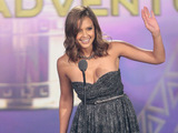 Jessica Alba accepts the award for Favourite Movie Actress at 2011 NCLR ALMA Awards in Santa Monica