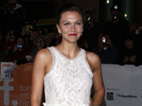 Maggie Gyllenhaal at the 36th Annual Toronto International Film Festival for the premiere of 'Hysteria'