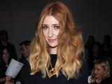 Nicola Roberts on the front row for Bora Aksu at London Fashion Week