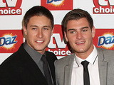 Tony Discipline and Matt Lapinskas at the TV Choice Awards 2011 at the Savoy Hotel