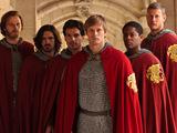 Sir Leon, Elyan, Merlin, Prince Arthur, Percival