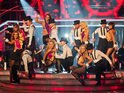 The BBC accuses Italian firm Mediaset of ripping off Strictly Come Dancing.