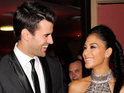 X Factor USA host Steve Jones helps Nicole Scherzinger through her split from Lewis Hamilton.