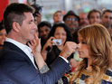 Simon Cowell says that he and Paula Abdul didn't get along when they first met.