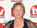 Pauline Quirke says that she is up for returning to Emmerdale.