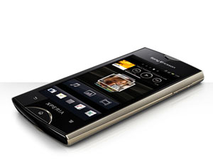 Sony Ericsson Xperia Ray smartphone