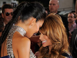The X Factor USA Premiere: Nicole and Paula