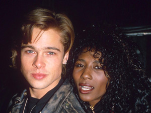 Brad Pitt and Sinitta dated for two years