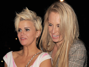 Kerry Katona and Josie Gibson on a night out in London