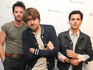 The Vaccines at the Rimmel London party