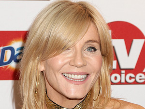 Michelle Collins at the TV Choice Awards 2011 at the Savoy Hotel
