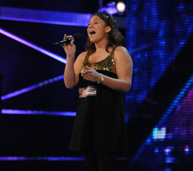 Melanie Amoro on X Factor USA